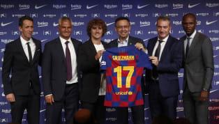 El entrono del jugador francés se reunió este martes con los responsables deportivos del club azulgrana para abordar su situación y su futuro en el Camp Nou....