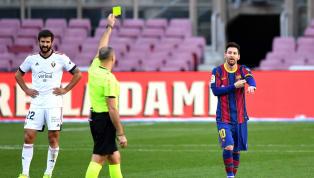 En la goleada que el sábado le endosó el Barcelona al Osasuna el domingo en el Camp Nou (4-0), Messi anotó el cuarto y definitivo tanto. Al marcarlo, se quitó...