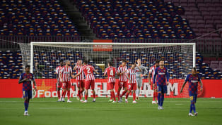 uare Barcelona fell further behind in the La Liga title race as Atletico Madrid twice came from behind to earn a 2-2 draw at Camp Nou. The stalemate many...