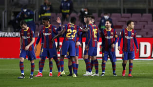 Barcelona thrashed Alaves 5-1 at Camp Nou on Saturday night to maintain their 100% league record in 2021, and return to second spot in La Liga....