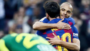 Martin Braithwaite has lavished praise on his Barcelona teammates including Lionel Messi ahead of La Liga's imminent return. The 29-year-old arrived at the...
