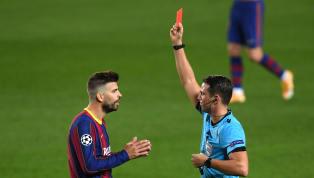 El central del FC Barcelona vio la roja directa ante el Ferencvaros. Piqué puso la nota negativa a la victoria azulgrana y su acción no le permitirá viajar a...