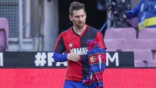Ao marcar o quarto gol do Barcelona na vitória (4 a 0) sobre o Osasuna, no último final de semana, pelo Campeonato Espanhol, Lionel Messi homenageou Diego...