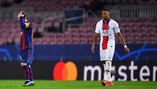 A Kylian Mbappé hat-trick helped Paris Saint-Germain to a 4-1 thrashing of Barcelona at Camp Nou in the first leg of their Champions League round of 16 clash...