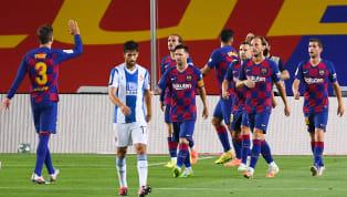 El Barcelona sigue en la pelea por la liga y se sitúa de momento a 1 solo punto del Real Madrid tras lograr hoy ante el Espanyol (1-0) una victoria que además...