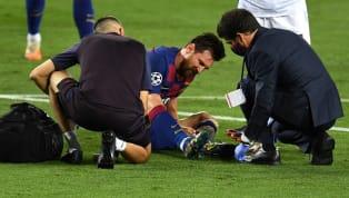 Lors du huitième de finale retour de Ligue des Champions contre Naples (3-1), Lionel Messi a reçu un coup par Kalidou Koulibaly au pied gauche. Ce dernier a...