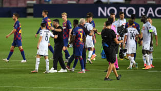 Barcelona menang 3-1 dari Napoli di leg kedua babak perempat final Liga Champions pada Minggu, 9 Agustu 2020 dini hari WIB. Keempat gol tersebut dicetak oleh...