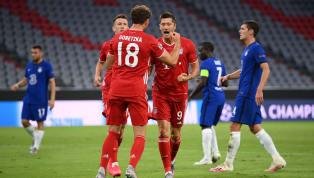 ข้อมูลการแข่งขัน การแข่งขัน - ฟุตบอลยูฟ่า แชมเปี้ยนส์ลีก 2019/20 รอบ 16 ทีมสุดท้ายนัดที่สอง วันแข่งขัน - คืนวันเสาร์ที่ 8 สิงหาคม 2020 ผลการแข่งขัน - บาเยิร์น...