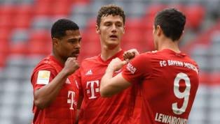 lear Bayern Munich closed in on their eighth straight Bundesliga title on Saturday, as they beat Fortuna Düsseldorf 5-0 at the Allianz Arena. Bayern needed 14...