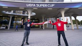 ? #SevillaFC's line up in the #SuperCup ? @FCBayernEN: Bono - Jesús Navas, Koundé, Diego Carlos, Escudero - Fernando, Jordán, Rakitic, Ocampos, Suso - De...