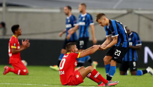 Inter Milan menang tipis 2-1 dari wakil Jerman, Bayer Leverkusen di babak perempat final Europa League pada Selasa, 11 Agustus 2020 dini hari WIB. Pasukan...