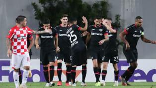 Bayer Leverkusen hat unter schweren Platzbedingungen und trotz schwacher Abwehrarbeit gegen Hapoel Be'er Scheva einen 4:2-Sieg errungen. Das Tor des Tages...