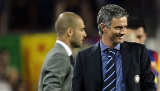 José Mourinho has revealed what he whispered in Pep Guardiola's ear after Thiago Motta was sent off when Barcelona and Inter met in the infamous 2010...