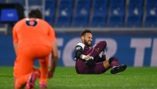 Coup dur pour le PSG ! Après seulement 25 minutes de jeu, ce mercredi soir face à Basaksehir, Neymar a dû quitter la pelouse stambouliote. Visiblement touché...