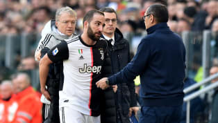 Juventus manager Maurizio Sarri has claimed the only person he ever fights with is striker Gonzalo Higuain. The spectacled Italian boss has managed the...