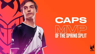 """Rasmus """"Caps"""" Winther of G2 Esports has been named Most Valuable Player of the League of Legends European Championship spring split 2019. G2 Esports were the..."""