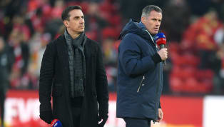 2020/21 Exclusive - Gary Neville and Jamie Carragher have both backed Manchester United to qualify for the Champions League next season by seeing off the...