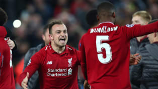 Liverpool's Gini Wijnaldum and Xherdan Shaqiri sat out an Anfield practice match as training steps up ahead of the Premier League return. With the season set...