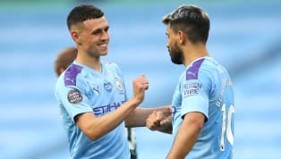 tyle Manchester City prolonged Liverpool's title coronation until Thursday at the very earliest with a thumping 5-0 victory over Burnley at the Etihad Stadium...