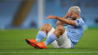 Manchester City have been dealt another injury blow as Pep Guardiola revealed he expects Sergio Aguero to be out of action for 'two or three' weeks - making...