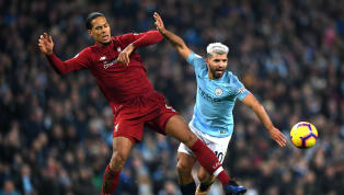 Manchester City striker Sergio Aguero has been speaking to the Spanish press about what it's like facing up against the mythical presence of Virgil van Dijk....