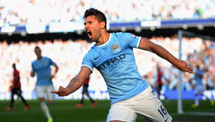 Where on earth do you begin with this one? It seems like 90% of Sergio Aguero's time at Manchester City has been spent wheeling away in celebration, though...