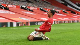 Manchester United s'est largement imposé, samedi, à Old Trafford face à Bournemouth (5-2) au terme d'une soirée où Mason Greenwood s'est rapproché des temps...