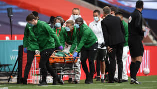 Manchester United defender Eric Bailly collided with Harry Maguire in the FA Cup semi-final with Chelsea on Sunday evening and required a stretcher to leave...