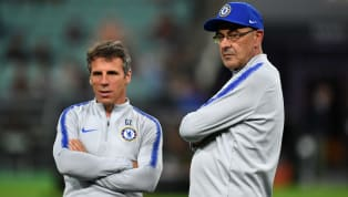 Former Chelsea assistant manager Gianfranco Zola has revealed that some of the Blues' top stars ended up feeling bored by Maurizio Sarri's training methods....
