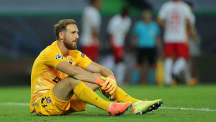 Atlético Madrid keeper Jan Oblak suggested that there would be 'time to talk' about his future, before RB Leipzig prematurely ended his side's Champions...
