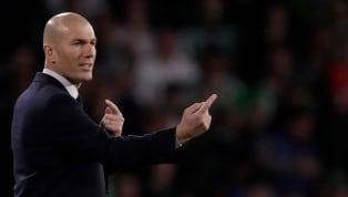 """Pour son 200ème match en tant qu'entraîneur du Real Madrid, Zinédine Zidane compte sur son """"triangle magique"""" en attaque pour le retour de son équipe en Liga..."""
