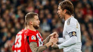 Real Madrid akan berusaha untuk melanjutkan tren kemenangan saat melakoni laga tandang ke markas Athletic Bilbao, Minggu (5/7). Berikut 90MiN Indonesia...