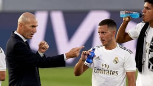 Real Madrid manager Zinedine Zidane was delighted to see Eden Hazard get himself on the scoresheet during the comfortable 4-1 win over Huesca. The result puts...