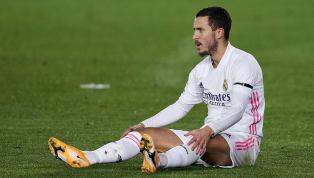 Entré en jeu samedi contre Elche en championnat, l'attaquant du Real Madrid Eden Hazard s'est à nouveau blessé. Le Belge ne jouera pas le 8e de finale retour...