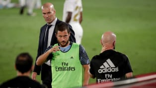 Real Madrid boss Zinedine Zidane has revealed he is unsure when Eden Hazard will return to action following yet another injury setback. The Belgian superstar...