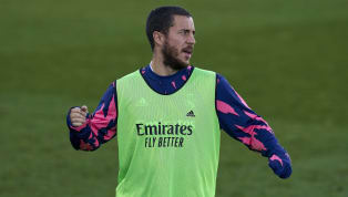 pool Eden Hazard has been pictured training with the Real Madrid squad as he continues his comeback from an injury which had threatened to rule him out for the...