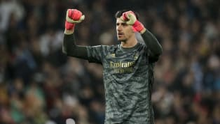 If there was one thing Real Madrid goalkeeper Thibaut Courtois wasn't going to say in interview, it's that Barcelona deserve to win La Liga. Much like you...