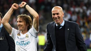 Real Madrid midfielder Luka Modric believes manager Zinedine Zidane could become Los Blancos' version of Sir Alex Ferguson and Arsene Wenger, describing him...