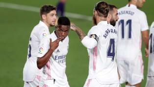 Real Madrid menang tipis 1-0 atas lawannya, Valladolid, di laga lanjutan La Liga pada Kamis (1/10) dini hari WIB. Gol semata wayang El Real diciptakan oleh...