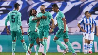 Real Madrid đã có một trận đấu khó khăn trước Real Sociedad và phải nhờ tới khoảnh khắc lóe sáng của Vinicius cũng như Karim Benzema thì đội bóng Hoàng gia...