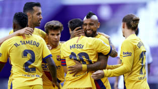 Barcelona laboured to a 1-0 victory over Valladolid on Saturday, a result that sees them move within a point of leaders Real Madrid, who have a game in hand....