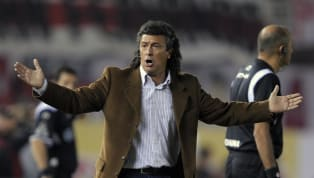 "Cinco directores técnicos que fracasaron estrepitosamente en el Millo. 1. Néstor Gorosito River Plate's team coach Nestor Gorosito ""Ni con Gorosito se jugaba..."