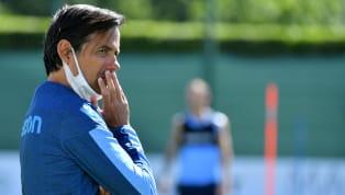 Subito una tegola per l'allenatore della Lazio, Simone Inzaghi. Uno dei big della rosa biancoceleste si è fermato in allenamento. SS Lazio Training Session La...