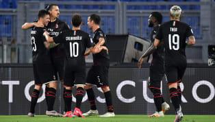 AC Milan naik satu peringkat ke urutan enam klasemen dengan tambahan tiga poin kala melawan Lazio di Stadio Olimpico, Minggu (05/07) dini hari WIB. Il...