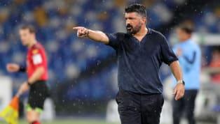 Apparu en conférence de presse, samedi, pour la dernière journée de Serie A, le coach napolitain Gennaro Gattuso s'est projeté sur la confrontation contre...
