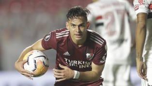 El colombiano quedó muy cerca de desplazar a Lucas Alario como máximo goleador millonario en el ciclo del Muñeco Gallardo. 5. Rodrigo Mora - 34 goles Mora...