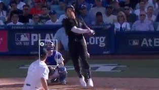 Clayton Kershaw y Domingo Germán han recibido largos batazos en el partido que cierra la serie entre Dodgers de Los Angeles y Yankees de New York. Aaron Judge...