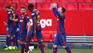 Barcelona menang 2-0 dari tuan rumah Sevilla dalam lanjutan pekan ke-25 La Liga 2020/21 pada Minggu, 28 Februari dini hari WIB. Kedua gol Barcelona dietak...