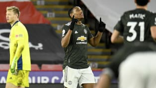 At the eighth time of asking, Manchester United forward Anthony Martial finally opened his Premier League account for the season with a goal against Sheffield...