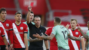 Southampton cruised to a 2-0 Premier League win over an Everton side who had Lucas Digne sent off in the second half on Sunday afternoon . Goals from James...